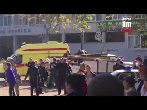 Взрыв в Керченском политехни…