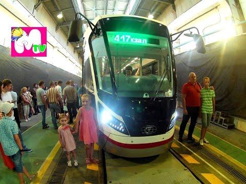 Новый трамвай Витязь-М