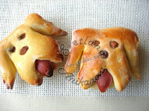 Булочки «Забавные Собачки» к…