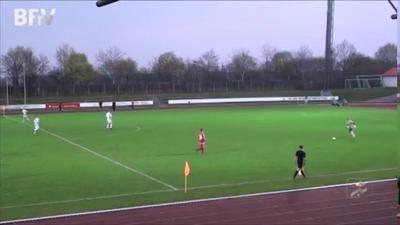 Вратарь Бундеслиги забил в Мюнхене гол с 75-и метров