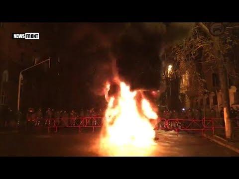 Шо, опять?!!! Михомайдан: в центре Киева протестующие зажгли шины