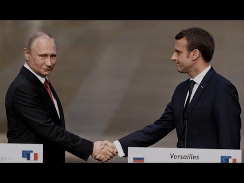 Зачем Макрон едет на поклон к Путину