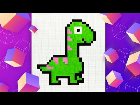 Как нарисовать динозавра по …