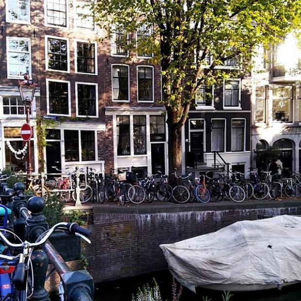Гуляю по Амстердаму
