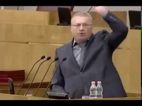 Жириновский: я ненавижу вас, Единая Россия! (видео)