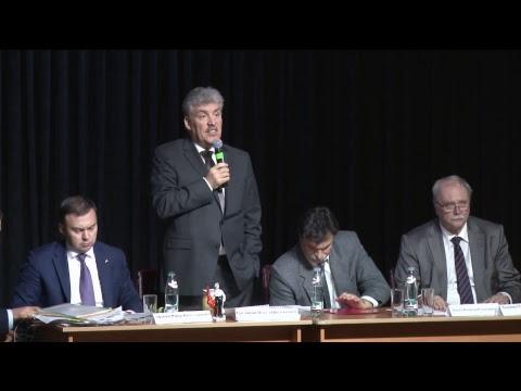 Встреча Павла Грудинина с избирателями (Санкт-Петербург 19 января 2018)