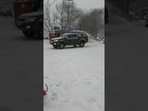 Владивосток встретил зиму