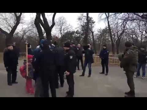 В Одессе произошли стычки у …