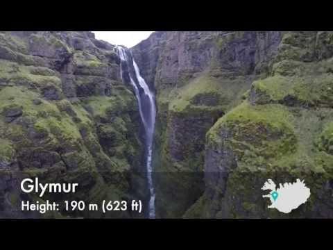 Красивейшие водопады Исландии