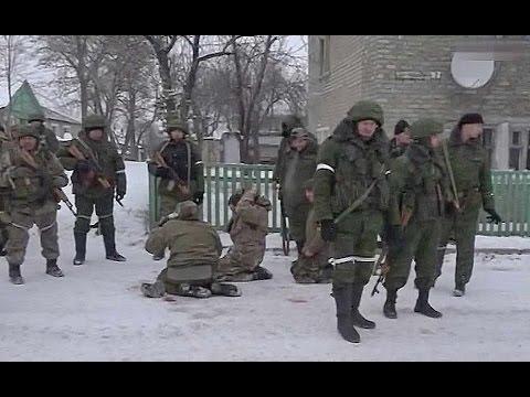 Как это было: Дебальцево. Украинские военные окружены и сдаются в плен