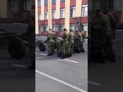 Для солдата Российской армии нет ничего невозможного