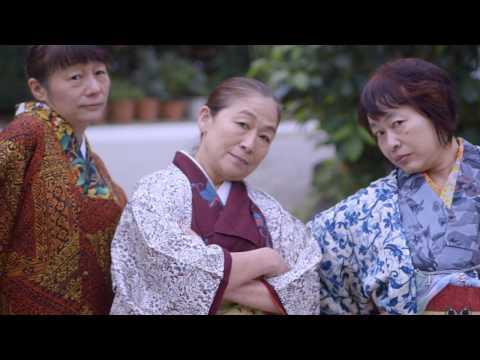 Бабушки-гейши отжигают!))