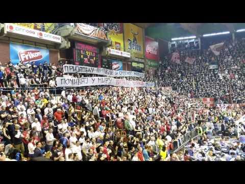 Сербские баскетбольные болельщики почтили память Виталия Чуркина