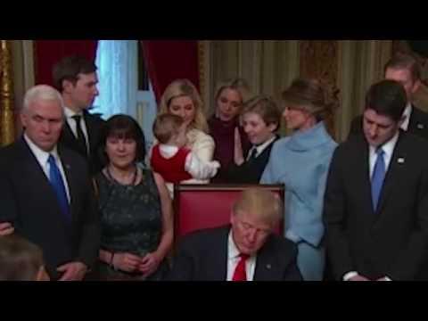 Дочь Клинтонов вступилась за младшего сына Трампа