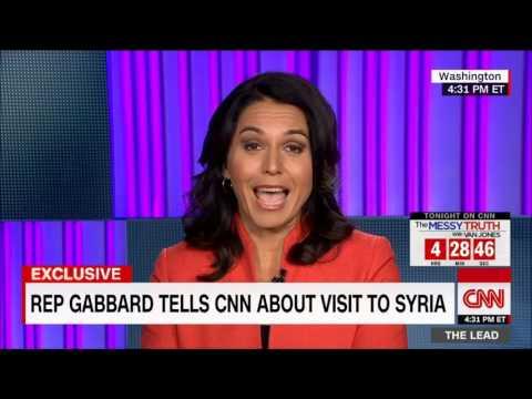 Вернувшаяся из Сирии Тулси Габбард загоняет в угол пропагандона CNN (перевод)
