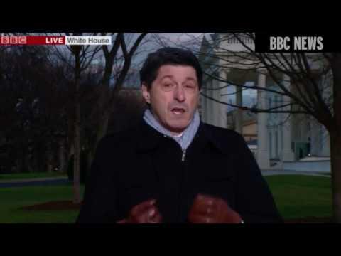 """Зрителей BBC заинтересовали """"волшебные"""" руки одного из репортёров"""
