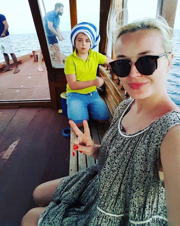 Беременная Полина Гагарина с…