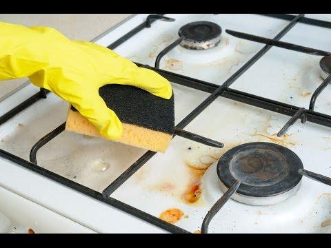 КАК БЫСТРО, ЭФФЕКТИВНО почистить ПЛИТУ?