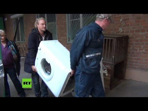 Немцы собрали и доставили гуманитарную помощь в Донецк и Луганск