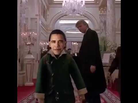 По коридору и налево: Трамп провожает Обаму