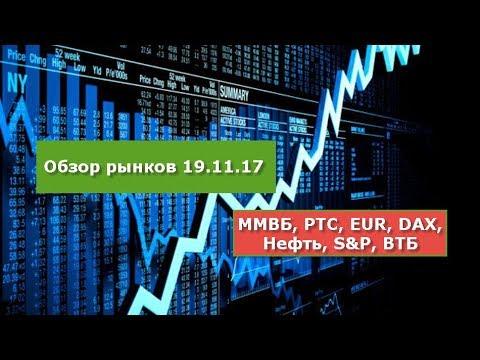 Обзор рынков 19.11.17 ... ММ…