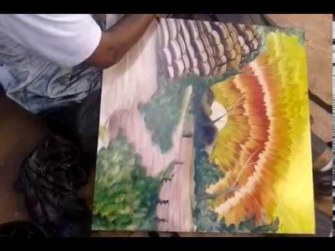 Бездомный художник-наркоман …