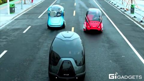 Авто будущего?