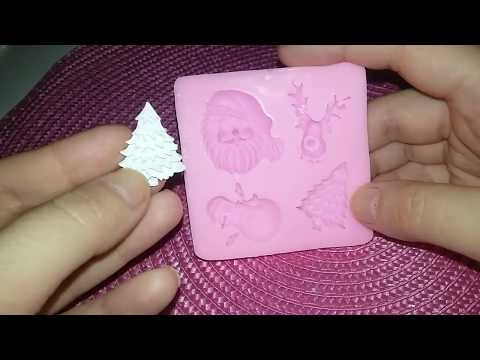 Обзор силиконовых молдов (видео) - скрапмастерицам в помощь.