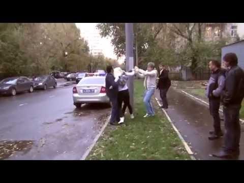 Девушка кикбоксер надавала люлей СтопХам