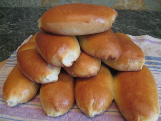 Пирожки с грибами.
