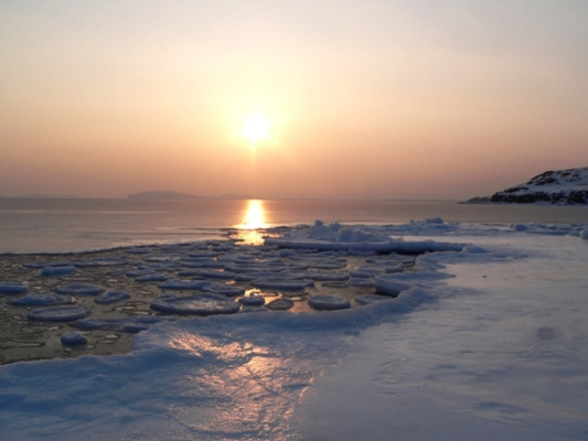 Зима в Приморье