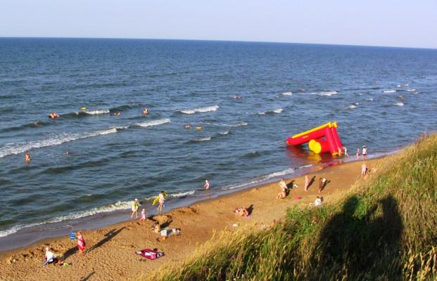 Кучугуры. Азовское море.
