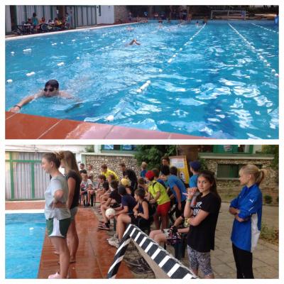 соревнования по плаванью