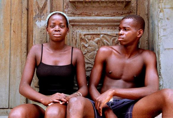 Куба. Двое. Фотограф Jorge Royan.