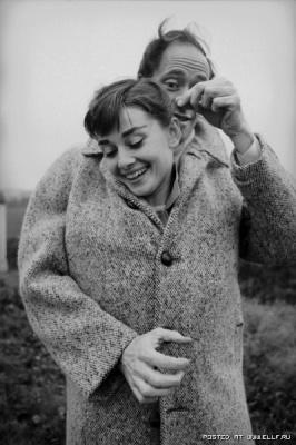 Одри Хепберн и ее муж Мел