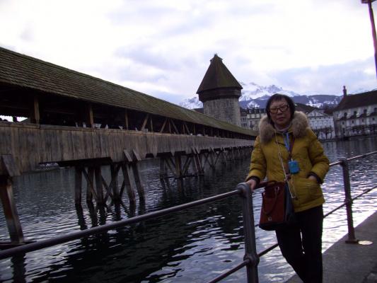 Мост Каппельбрюкке, Люцерн