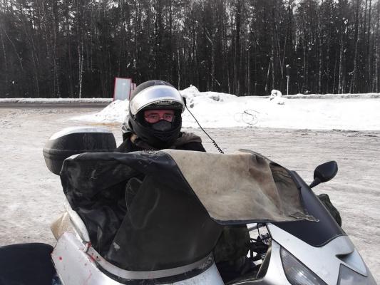 Зимний мото пробег 12-16.02.14 часть 2