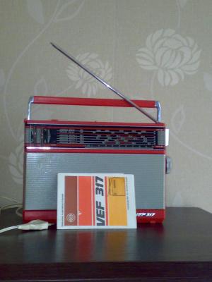 Быт. Радиоприемник VEF -317
