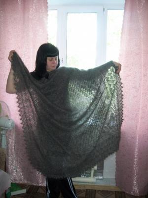 оренбургская пуховая шаль