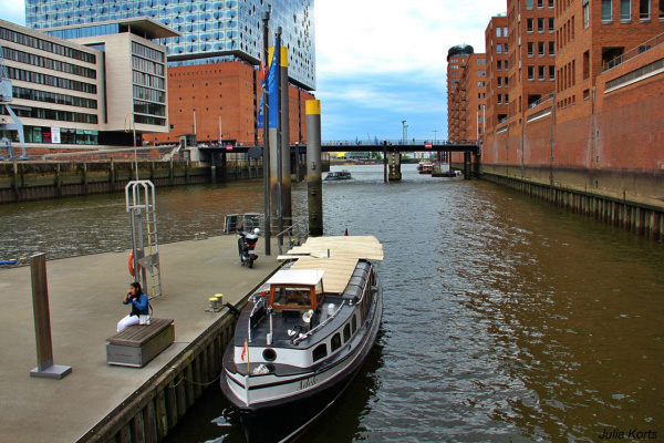 Берега Гамбургских каналов
