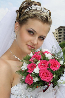невеста в этот светлый миг ты прекрасней всех