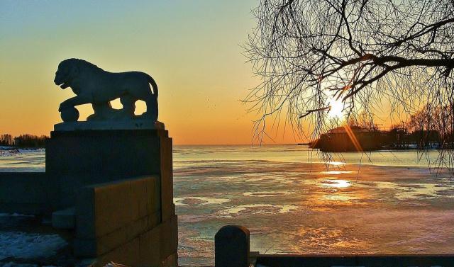 Вид на Финский залив