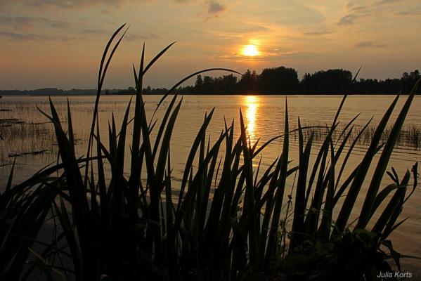 Закат на Валдае. Июль