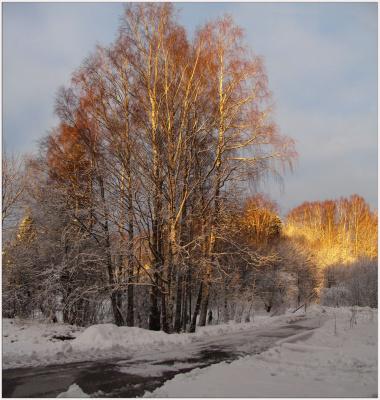 Просто было зимнее утро..
