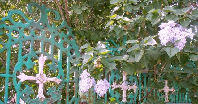 Церковная ограда.