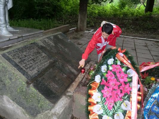Братская могила под Орлом