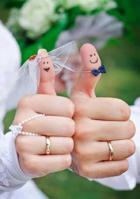 идея  для  свадебной  фотографии