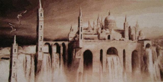 Замок на воде.
