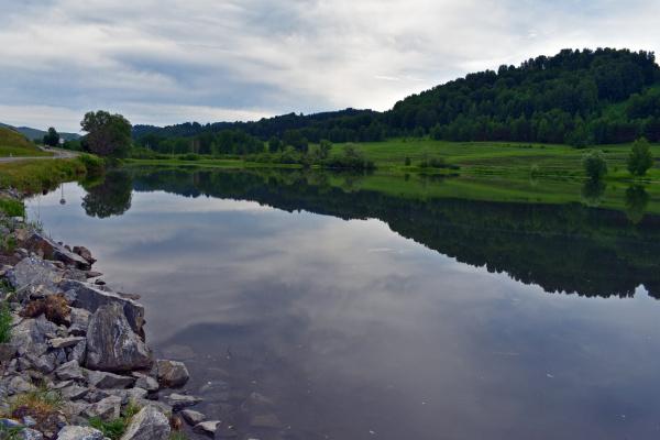 Озеро по пути