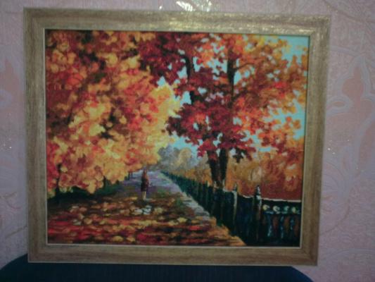 блюз падающих листьев
